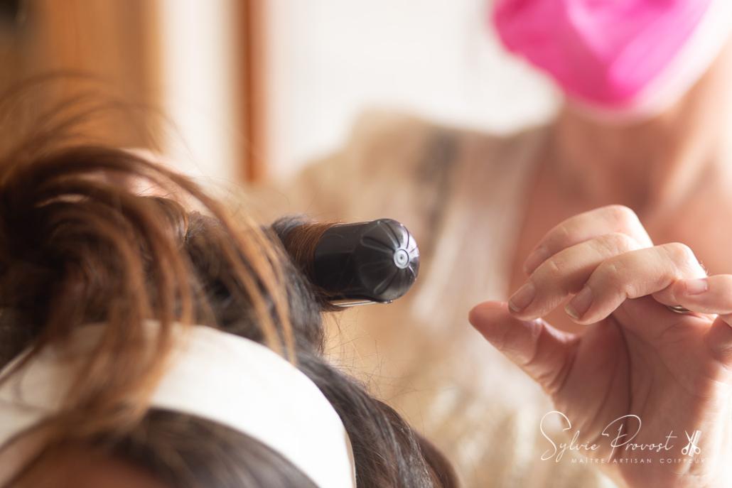 Bouclage des cheveux